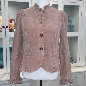 French Connection Corduroy Blazer-Feminine Details